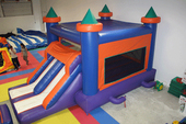 castle combo inflatable rental pic