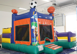 Sports Combo Inflatable Rental pic